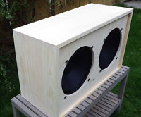 2x12 Unfinished Pine Speaker Cabinet