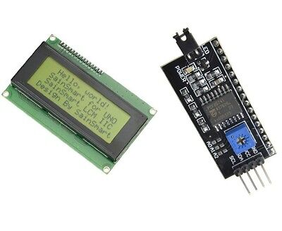 20x4 Lcd 2004 Character Display Iici2ctwispi Serial Interface Board Module