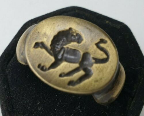 Ancient Bronze  Ring-Vintage-Antique ROMAN-BRONZE-RARE