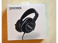 Koss Pro4S Full Size Studio Headphones. Black. New, unused, guaranteed.