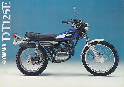 Yamaha Dt 125 E 1979 Parts List Manual Catalogue Paper Bound Copy 1go - yamaha - ebay.co.uk