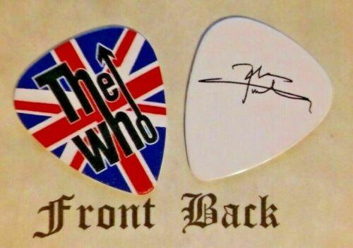 THE WHO - PETE TOWNSHEND band logo signature guitar pick -  (Q)