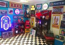 MOVING OVERSEAS! RETRO & VINTAGE MAN CAVE BAR ROOM ITEMS Albany Creek Brisbane North East Preview
