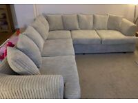 LIVERPOOL JUMBO CORDED BRANDED NEW CORNER OR 3+2 SEATER NOW IN STOCK