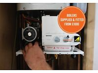 Vokera Easi-Heat Plus 25c combi boiler supplied & fitted for £1000 with a 5 year warranty