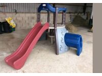 Little Trikes plastic slide and play climbing frame