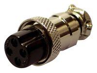 4 Pin Microphone Plug - Female x 2
