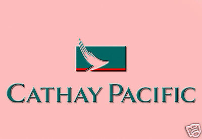 """Cathay Pacific Airlines Logo Fridge Magnet 3.25""""x2.25"""" Collectibles (LM14002)"""