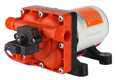 12V Seaflo 3.0 GPM Water Pump RV Boat Replaces SHURFLO 4008-101-A65 Revolution
