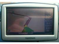 Tomtom XL sat nav - charger, mount, UK / Western Europe