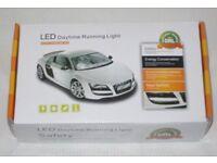 2x PLASMA LED COB DRL SMD DAYTIME RUNNING LIGHTs CAR SIDE LIGHT XENON WHITE LAMP