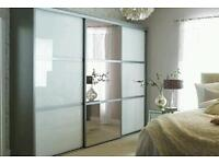 Wardrobe doors supplied and fitted