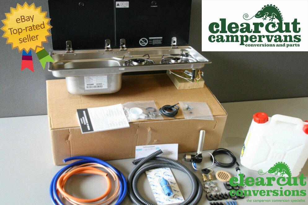 Campervan Smev 9722 Combination Unit Hob  R  H Sink  Tap