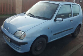 52 Plate 1ltr Fiat Seicento Great runabout Low Tax and absolutely economical (320)