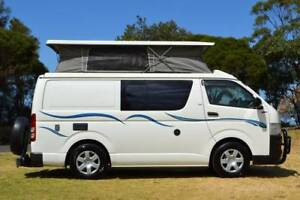 Toyota Hiace Frontline Campervan with 5 Seats, Dual Fuel & Shower