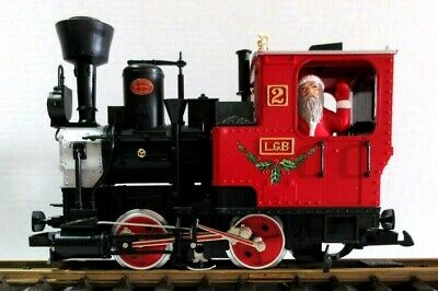 "LGB 2020 THE CHRISTMAS TRAIN STEAM ENGINE ""THE RED SET"" NEW"