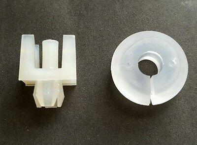 New FORD ESCORT Mk1  Mk2  Bonnet Stay Grommet  White Bonnet Stay Clip