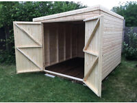 SHEDS ANY SIZE & STYLE MADE TO ORDER! BEST PRICES IN NORFOLK! STABLES, KENNELS, GARDEN OFFICES