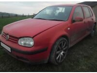 BREAKING 2002 VOLKSWAGEN GOLF 1.9 DIESEL SDI - NO TEXTS PLEASE - NEWRY / ARMAGH