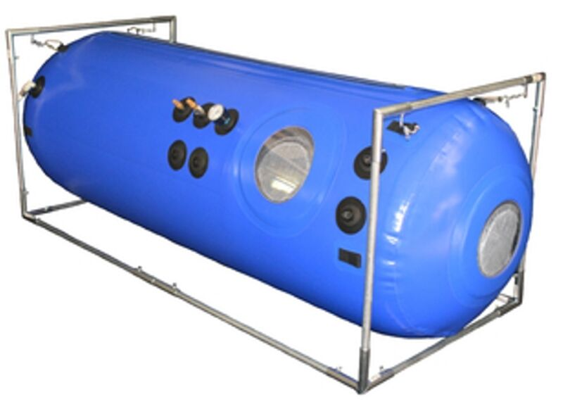 "Hyperbaric 27"" O2 Chamber PEMF Super Combo to Power Up Hyperbaric Therapy X"