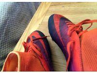 Football Boots - Nike HyperVenom - Boys' size 3.5