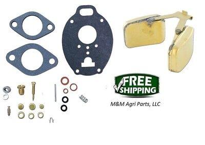 Carburetor Kit Float John Deere M Mt 40 320 330 420 430 440 1020 1520 2010