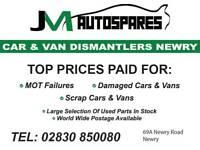 Top prices Car Or Van SCRAP