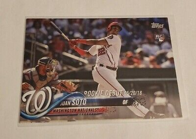 R56,938 - 2018 Topps Update #US104 Juan Soto Rookie Nationals
