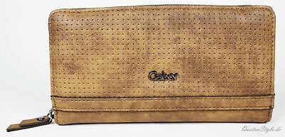 Geldbörse von GABOR Palermo Marken Portemonnaie Damen Geldbeutel in Braun