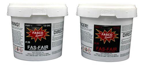 Fas-Fair #26 Epoxy Fairing Compound Gallon Kit