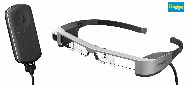 EPSON BT-300 Smart Glass MOVERIO Organic EL Panel Japan Domestic Version New