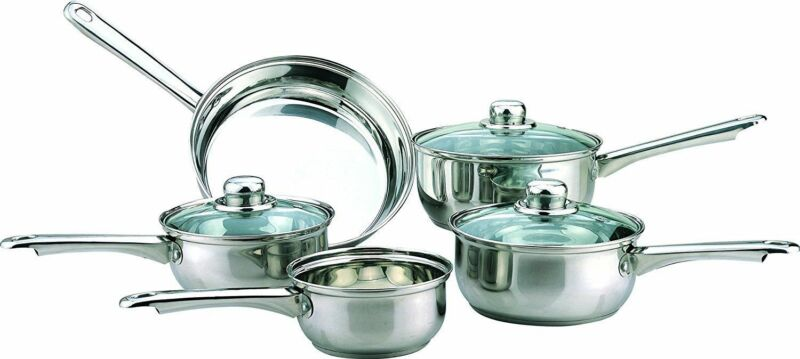 5 Pieces pans set
