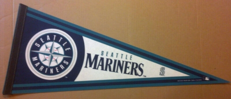 Seattle Mariners 2008 Baseball Team MLB Pennant WinCraft New Old Stock USA