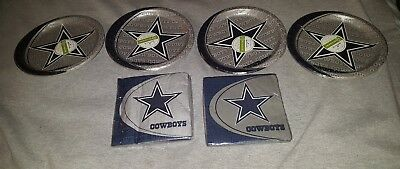 DALLAS COWBOYS NFL FOOTBALL Party Supplies Plates & Napkins
