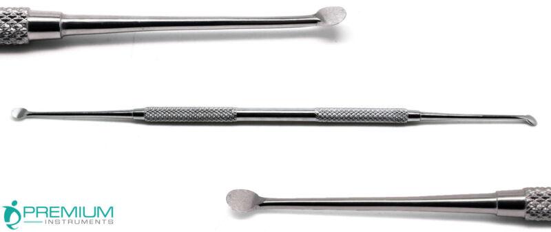 Dental Molt Curette 3/4 Surgical Curettage Cyst Removal Debridement Instruments