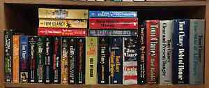 Huge TOM CLANCY Book Collection for Sale – CHEAP!! Peterborough Peterborough Area image 1