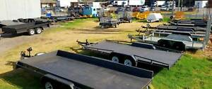 FOR HIRE - TANDEM CAR CARRIER TRAILER