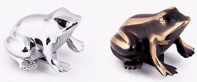 Bright Brass Accessories - Frog Door Knocker in an Antique Brass or Bright Chrome Finish – Door Accessories