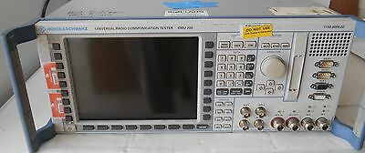 Rohde Schwarz Cmu200 Universal Radio Communications Tester W Options