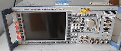 Rohde Schwarz Cmu200 Universal Radio Communications Tester W Options