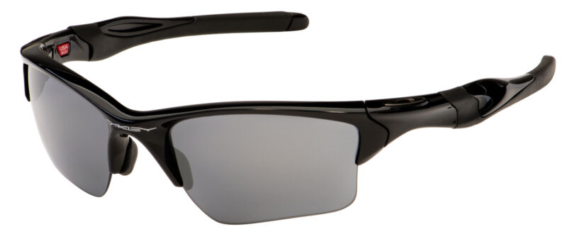 Oakley Half Jacket 2.0 XL Sunglasses OO9154-01 Polished Black | Black Iridium