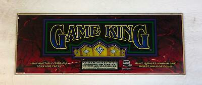 "IGT top glass ""Game King"""