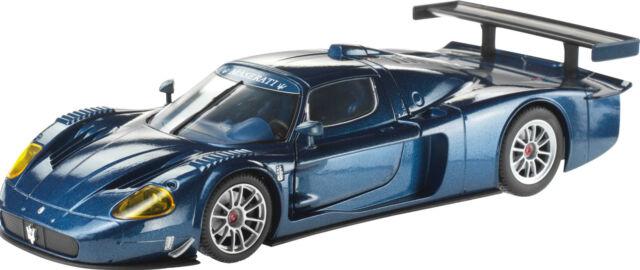 1:24 Mondo Motors Maserati MC 12 Blue Metal Diecast Road Race Car New & Boxed