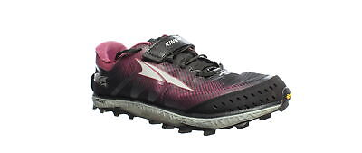 Altra Womens King Mt 2 Black/Rose Hiking Shoes Size 8 (1621152)