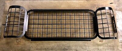 Rear Window Mesh Grills Protection Land Rover 90 110 Pickup Defender Double