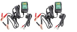 2 PACK - Deltran Battery Tender Jr. 12V Maintainer / Charger Tender Jr