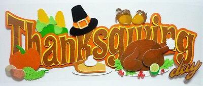 Pumpkin Pie Hat (Thanksgiving Title Pilgrims Hat Pumpkin Pie Turkey Feast Jolee's 3D)