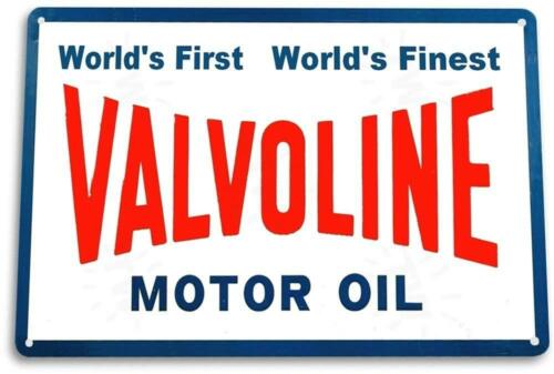 Valvoline Motor Oil Vintage Retro Tin Sign