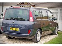 Renault Grand Espace 7 seater 2.2 dci 6 speed manual. FSH,air con, ISOfix seats,economical,reliable