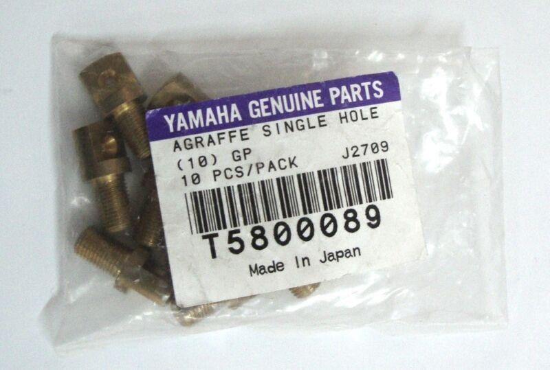 Yamaha Genuine Parts Clasp Single Hole 10 Piece Brass Flügelzubehör Replacement